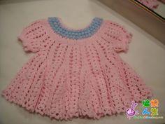 crochet baby ripple dress http://www.liveinternet.ru/users/fruitic/post180678167/