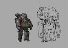 ArtStation - Some sketches, Anakin Lee