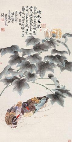 【国画】周亚鸣的花鸟作品