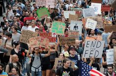 "People all over the World are rightfully protesting because the are fed up. Why are Americans not following suit? Headlines out Brazil this morning (06-18-13) ""As many as 200,000 demonstrators marched through the streets of Brazil's biggest cities on Monday in a swelling wave of protest tapping into widespread anger at poor public services, police violence and government corruption."" The U.S.A. has more corruption and police violence than anyone else. If they can stand up, why don't We?"