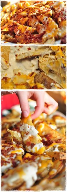 Looking for a new twist on an old comfort food? Try out this recipe for cheesy potato fries to satisfy your craving.