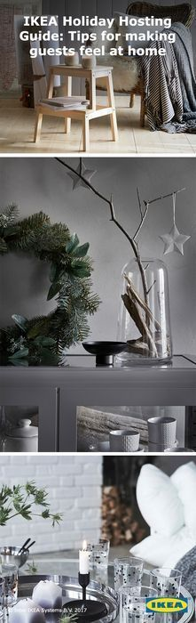 Make your holiday dreams even more cozy. Here's a style idea: Transform your home from everyday to holiday with IKEA candles and sparkling décor that keep the mood bright and cheery.