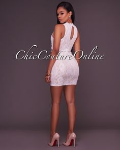 e37caf6ef92d Blanche Yellow Nude Lace Skater Dress | Love it, wear it! | Dresses ...