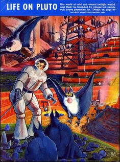 Frank Rudolph Paulwas an American science ficiton illustrator of pulp magazines influential in defining what both cover art and interior illustr...