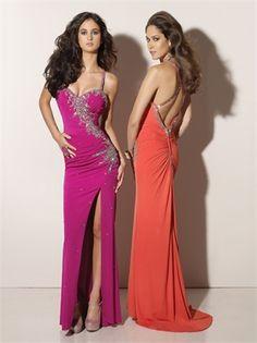Sexy Sheath Crossing Back Floor Length Prom Dress PD10056 www.dresseshouse.co.uk $116.0000
