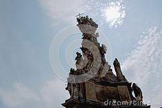 Plague column on main square.