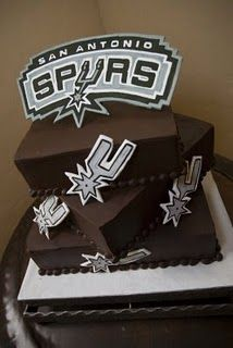 San Antonio Spurs Basketball Cake My Cakes My work www