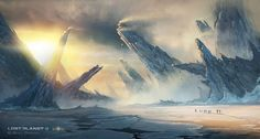 Enjoy this collection of beautiful concept art made for Lost Planet 3 by Emmanuel Shiu and Brian Yam Story trailer http://www.dailymotion.com/video/x142ppn