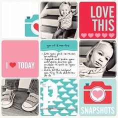 project life ideas | mindypitcher - Project Life/scrapbooking