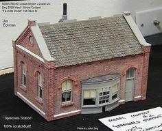 Free Ho Paper Buildings   ... Model Railroad Co. - Anyone using paper buildings?…