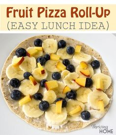 Healthy, simple and a kid fav! Perfect for an easy lunch or breakfast.