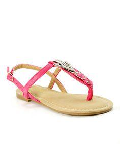 Loving this Strawberry Sami Sandal on #zulily! #zulilyfinds