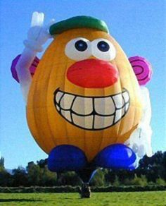 Mr. Potato Head (Hot Air Balloons by Unknown) #ToyStory
