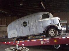 1937 GMC COE beer truck