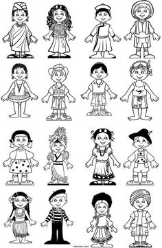 Cute Coloring Pages, Coloring Books, Kindergarten Activities, Toddler Activities, Preschool Social Studies, Cultures Du Monde, Children's Church Crafts, Vbs Themes, Fall Art Projects