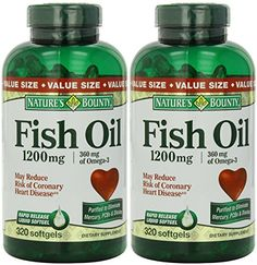 Natures Bounty Fish Oil 1200 mg 640 Softgels 2 X 320 Count Bottles *** More info could be found at the image url. (This is an affiliate link) Nutrition Articles, Diet And Nutrition, Diet Chart, Bikes For Sale, Fish Oil, Good Fats, Nutritional Supplements, Health Fitness, Healthy