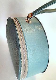 0c6624883 Hat box Hair dryer Portable 60s Bonnet Hose Carry Case VINTAGE works NICE  Retro