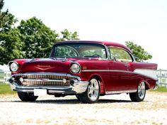 1957 Chevy..Re- pin brought to you by #lLowcostcarIns. at #HouseofInsurance #Eugene,Oregon