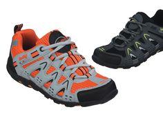 Mit diesem Schuh laufen Sie nicht schneller, aber bequemer. Mit maximalem Komfort, auf unterschiedlichem Gelände, überwinden Sie Distanzen von denen Sie nur geträumt haben. Ein sportlicher Ausblick auf unsere trekking-tauglichen Schuhe für den Frühling 2013. ConWay, Damen Sportschuhe – Ramsau, orange und schwarz;