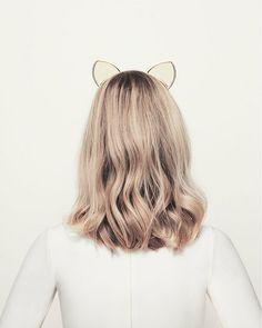 Erin Fetherston Kitty Ears Headband//