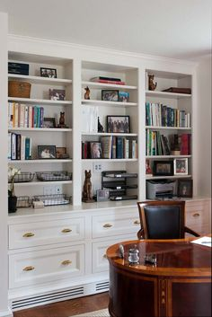 Image result for built in bookcases for a 1930's bungalow