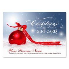 Vale en blanco de las vacaciones del navidad tarjetas de visita