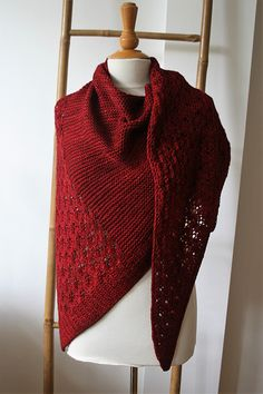 Dohne by Gretha Mensen, knitted by vervlogendagen | malabrigo Rios in Cereza