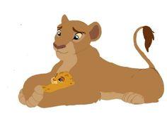 nala and kion baby by Kiara Lion King, The Lion King 1994, Lion King Fan Art, Lion King 2, King Art, Disney Lion King, Disney Fun, Disney Movies, Animals And Pets