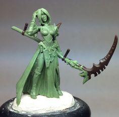 Jen - Harvester of Souls - Special Edition Miniatures - Miniature Lines  Jeff Grace