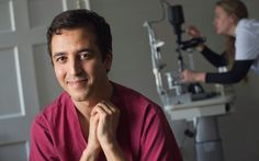 Ahmed Nagiati El-Amir, one of the world's leading eye surgeons, has developed   a technique that could save the sight of up to 500,000 people with macular   degeneration