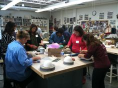 Empty Bowls—Saturday, February 22—11 a.m.—Upper School campus. Details: http://emptybowls.wix.com/flinthill With a $15 donation, receive a beautiful bowl and soup. Hosted by the Clay Club, this event raises money to fight hunger by selling ceramic bowls made by our students, parents, faculty and staff. All proceeds benefit DC Central Kitchen. Clay Club students have coordinated several bowl-making workshops for the school community including this collaborative one with Flint Hill parents.