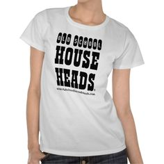 Old School House Heads Lady T Basic T-shirts