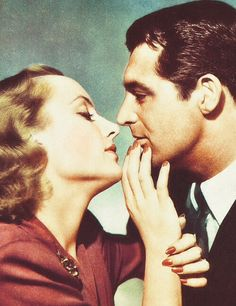 "Carole Lombard and Cary Grant ~ ""In Name Only"", 1939."
