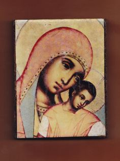 Virgin Mary by teogonia on Etsy