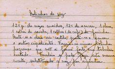As Receitas da Avó Helena e da Avó Eduarda: Bolinhos de Noz