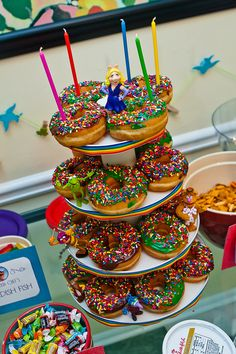 Donut cake -for kids that don't like cake