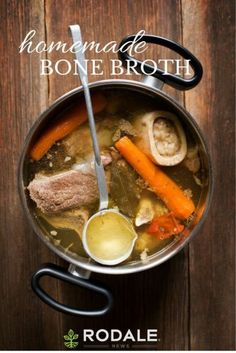 Making homemade bone broth from healthy, grass-fed animals can nourish your body and is a great natural remedy to rebalance your gut.