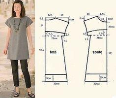 12 modele de tipare pentru croitoresele începătoare. Câteva cusături și haina este gata! - Fasingur