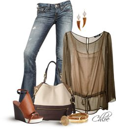 """""""Wedge Woman"""" by chloe-813 on Polyvore"""