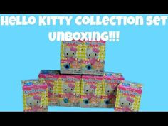 HELLO KITTY New Collection Set Unboxing!!! ハローキティの - YouTube