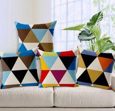 """Cojines modelo /""""feliz/"""" idea de regalo como decoración sofá cojines sofá en blanco hechizo"""
