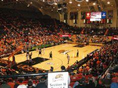 Gill Coliseum - Oregon State Beavers