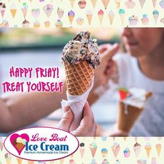 #FriYay happy friday everyone! Take a day to treat yourself with a scoop of Love Boat Ice Cream ! #livelocal #icecream #instayum #swfl #fortmyers #friday #dessert #dessertfirst #sundaes #eatlocal