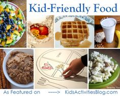 Eating for Kids: Easy Recipes your Kids will Love & weekly It's Playtime kid friendly link up