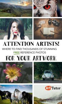 A curated list of websites that offer free (legally!) photographs that you can use to draw and paint form. The photographs come from amateur and professional photographers who dedicate their work either to the public domain or under a Creative Commons Attribution license. There are some truly stunning images to choose from. Enjoy!