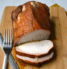 Cuban Rotisserie Pork Loin with Peppers and Onions | Recipe | Pork ...