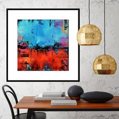 mock up poster frame in hipster interior background, renderin Art Prints For Home, Wall Art Prints, Canvas Prints, Abstract Canvas Art, Abstract Print, Modern Art Paintings, Original Paintings, Square Canvas, Free Canvas