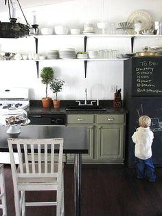 ideas y trucos para decorar la casa complementos decorativos : Ideas para Decorar con Pintura Pizarra