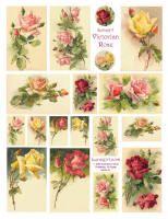 LUNAGIRL Flowers Victorian images vintage ephemera clipart altered art scrapbooking
