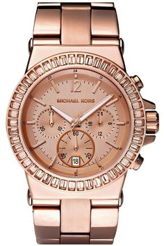 Michael Kors !    Love rose Gold !!